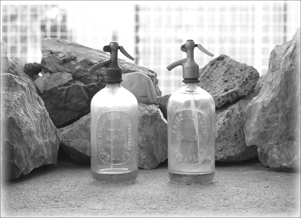 Antik Szódásüvegek